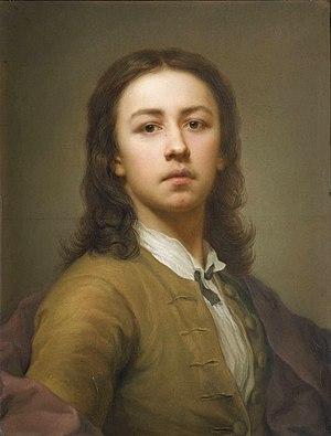 Anton Raphael Mengs - Self-portrait, 1744