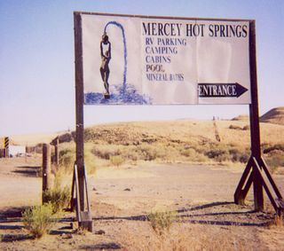 Mercey Hot Springs, California Unincorporated community in California, United States