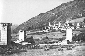 Svaneti - Mestia, c. 1890s