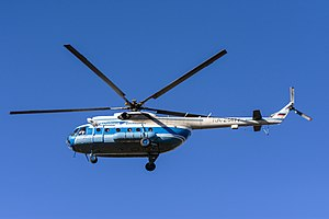 Aircraft - The Mil Mi-8 is the most-produced helicopter in history