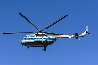 Aircraft - The Mil Mi-8 is the most-produced helicopter in history.