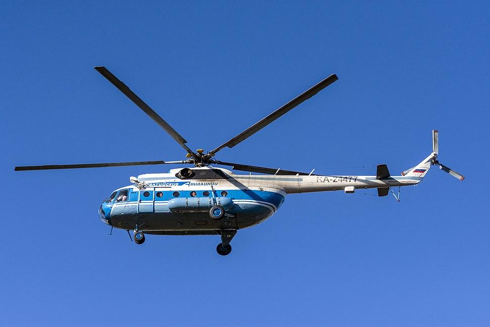 Mi-8 (RA-24477) Helicopter in SPB