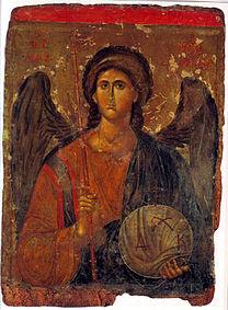 ICONS, Balkans Archangel Michael, 14th century