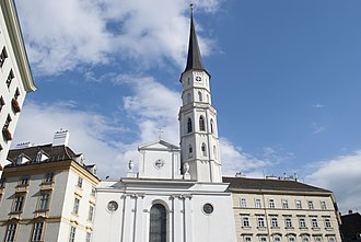 St. Michael's Church, Vienna - Image: Michaelerkirche, Wien (2)
