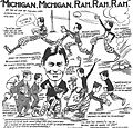 Michigan Wolverines football cartoon, October 1906.jpg