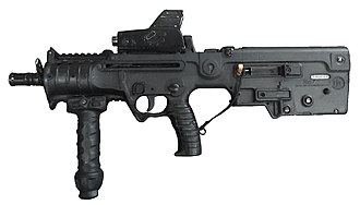 Israel Weapon Industries - Image: Micro Tavor X95MARS white