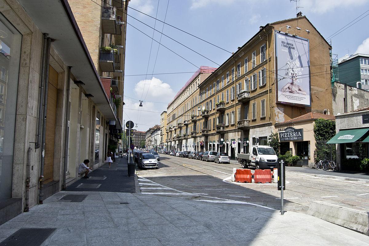 Circonvallazioni Di Milano Wikipedia