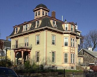 Harrison Square Historic District - Image: Mill Street, Harrison Square Historic District Boston MA 03