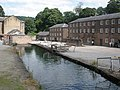Mill stream, at Cromford Mill - geograph.org.uk - 1408671.jpg