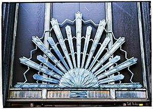 Wisconsin Gas Building - Art-deco architectural details from the 1930 Milwaukee Gas Light Building