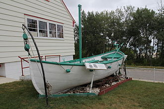 SS Milwaukee - Lifeboat found near Holland, Michigan with four dead occupants