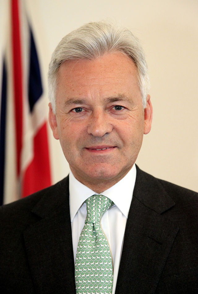 Minister of State for International Development, Alan Duncan, MP (11836631924).jpg