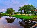 Mirror effect used by water in passikudah beach srilanka.jpg