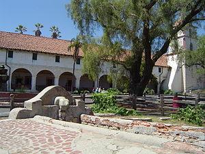 Mission Santa Barbara - Image: Mission sb lavanderia