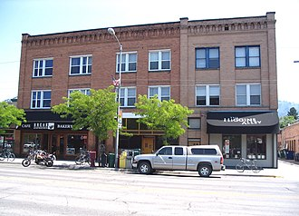National Register of Historic Places listings in Missoula County, Montana - Image: Missoula, Montana Belmont Hotel