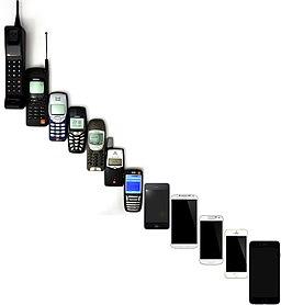 Mobile Phone Evolution 1992 - 2014