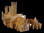 Model of Lincoln Cathedral - black background.JPG