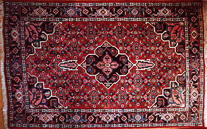 Bijar - A modern Bijar rug