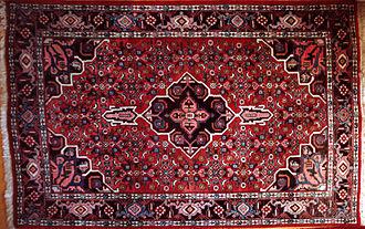 Bijar (city) - A modern Bijar rug