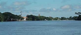 Santa Cruz de Mompox - View of Mompox from the Magdalena River