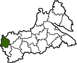 Location of Monastiriščes rajons