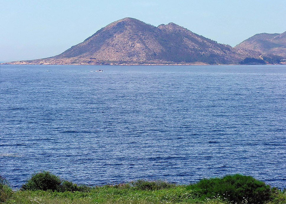 Monte Louro dende Arnela
