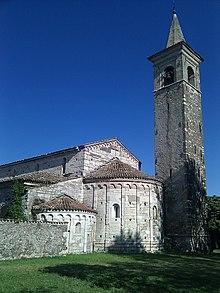 Chiesa San Pancrazio - Abside e campanile