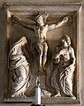 Montorsoli, crocifissione di Cristo con la Madonna e san Giovanni Evangelista.jpg