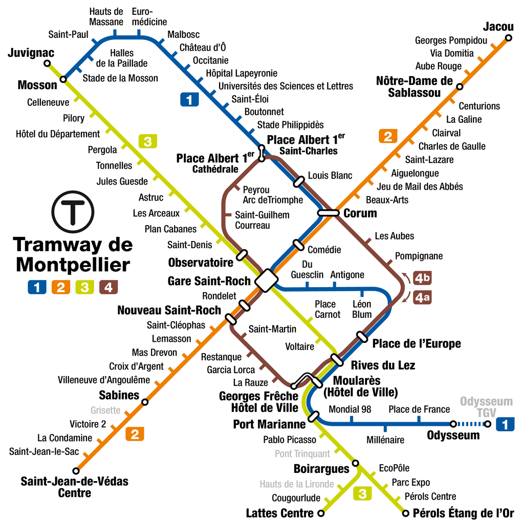 File:Montpellier tramway map.png - Wikimedia Commons
