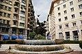 Monument -Struggle between man and shark- (Lotta tra uomo e lo squalo) aka Fontana del Pesce, Guglielmo Marconi Square, Savona, Liguria region, Italy.jpg
