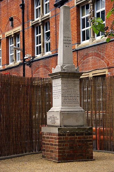 File:Monument to Charles Wesley, St Mary le Bone Old Churchyard, London.jpg