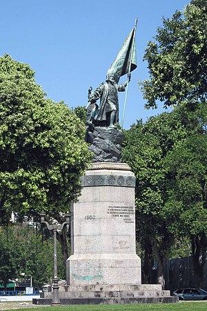Português: Monumento à Pedro Álvares Cabral na...