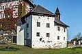Moosburg Schloss 1 Schloss Südflügel ehem Wirtschaftsteil 02102017 1290.jpg