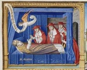Pope Eugene III - The death of Pope Eugene III