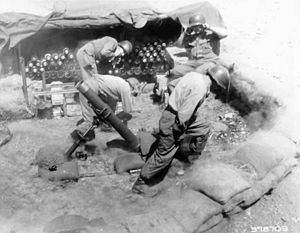 Chemical Corps - As in World War II, chemical soldiers would have employed the 4.2 inch chemical mortar in Korea, had chemical weapons been used