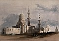 Mosque of Ayed Bey, with other tombs of the caliphs, Cairo, Wellcome V0049368.jpg