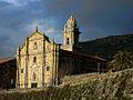 Mosteiro de Santa María de Oia, en Galicia (Spain).jpg