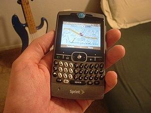 English: Motorola Q.