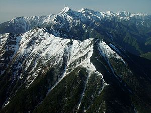 Mount Kaikoma - Image: Mount Kita from Mount Kaikoam 2005 5 4