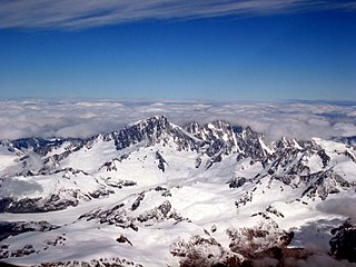 Mount Waddington mountain in Canada