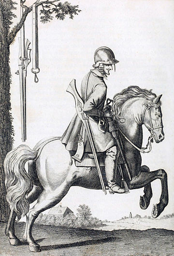Mounted dragoon