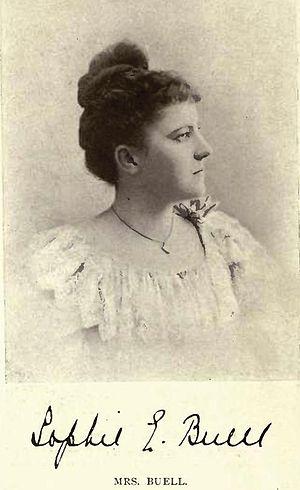 William Buell - Mrs Sophia Elizabeth Buell née Bowie