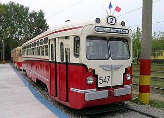 MTV-82 - Museum MTV-82 tramcar in Nizhny Novgorod, Russia.