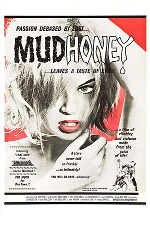 Little Broken Hearts - Jones portrayed herself as Clara Belle (Lorna Maitland) in the Mudhoney poster