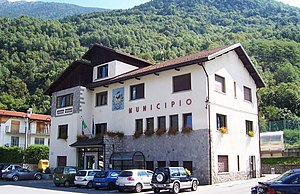 Sonico, Lombardy - the Town Hall