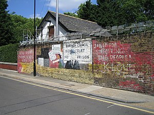 Poplar Rates Rebellion - Image: Mural Poplar Rates