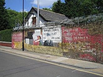 Poplar Rates Rebellion - Image: Mural Poplar Rates