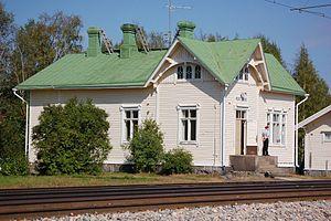 Bruno Granholm - The Murtomäki station building designed by Granholm.