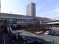 Musashi-Urawa Station east square.jpg