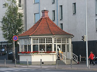 Lauttasaari - A café in Lauttasaari.